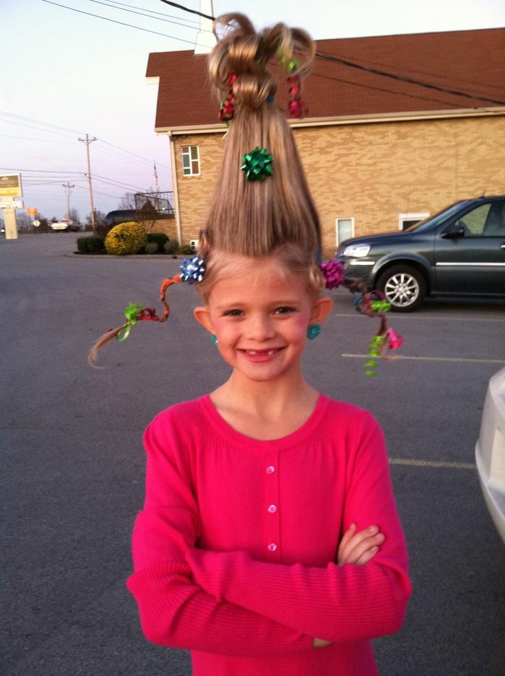 Cindy Lou Who Hair Style