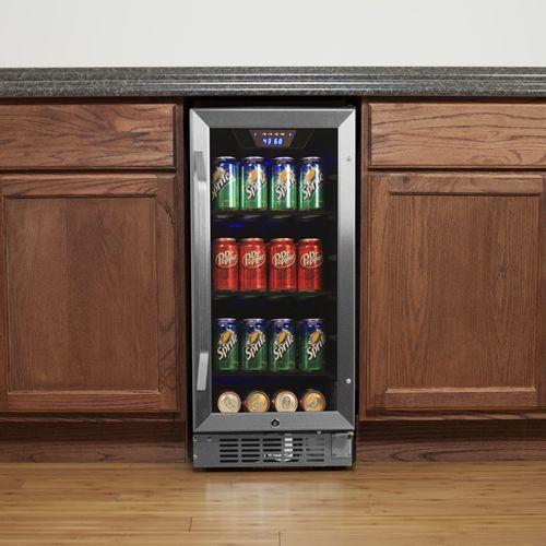 EdgeStar Built-In Beverage Cooler Refrigerator