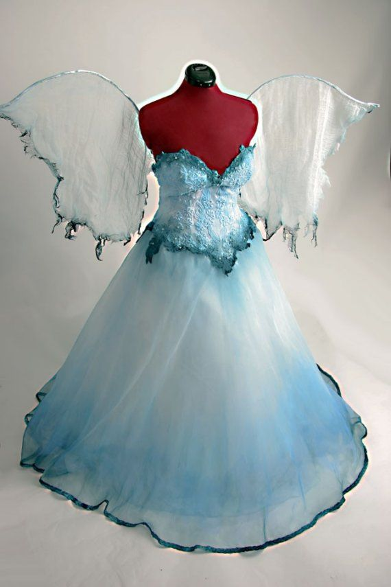 Water Fairy Dress Made to Order by Deconstructress on Etsy