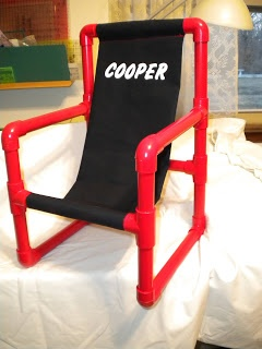 Build your own chair and personalize with heat transfer vinyl - Nothin' Fancy