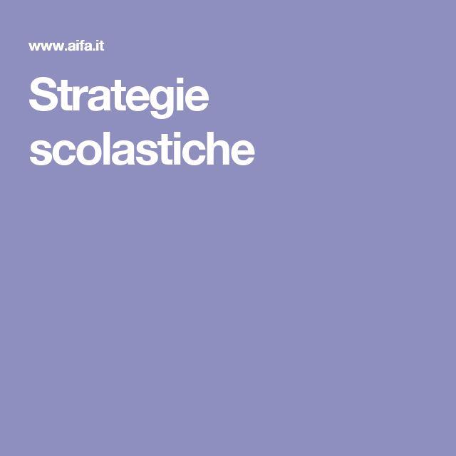 Strategie scolastiche
