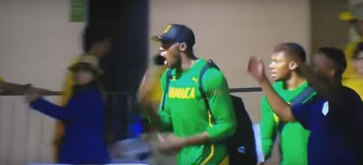 Bolt and Blake's reaction to Wayde van Niekerk breaking the 400m WR is still the best sports video of 2016  We feel you, guys. http://www.thesouthafrican.com/bolt-and-blakes-reaction-to-wayde-van-niekerk-breaking-the-400m-wr-is-still-the-best-sports-video-of-2016-video/