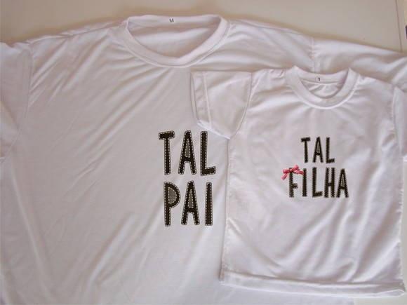 Kit de camiseta Tal filha