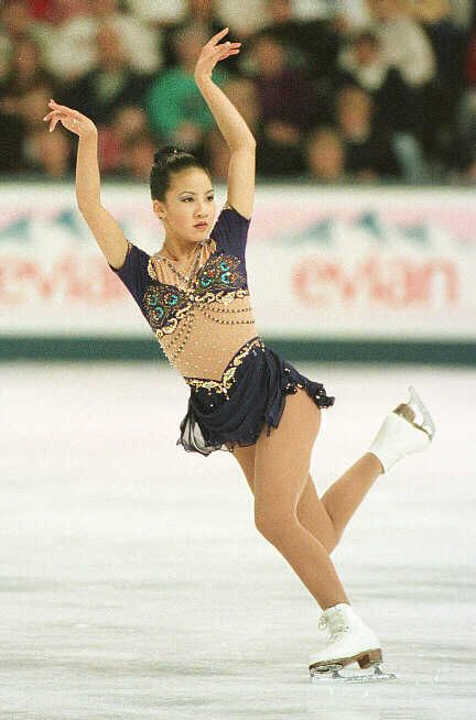 Michelle Kwan -Purple Figure Skating / Ice Skating dress inspiration for Sk8 Gr8 Designs.