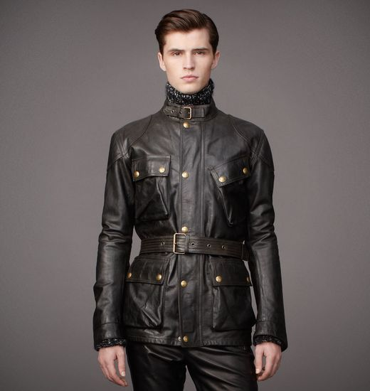 Belstaff Panther Jacket As Worn By Brad Pitt In The