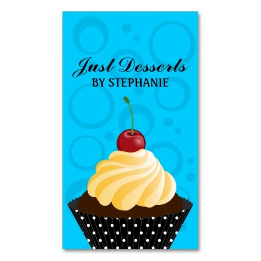 2168 best bold business cards images on pinterest business cards discount cupcake bakery business cards cupcake bakery business cards you will get best reheart Image collections