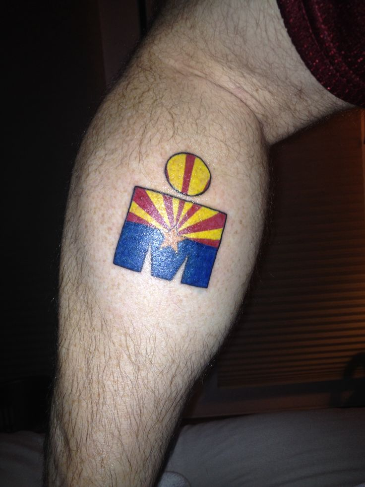 Ironman Arizona Tattoo