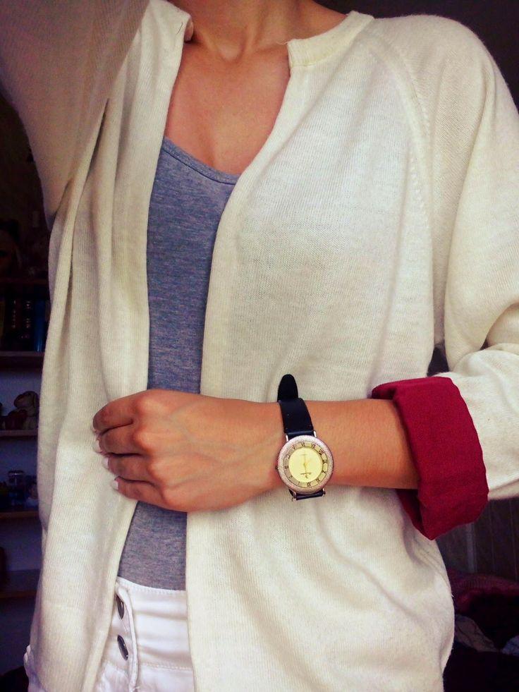 hermosos: Jak szybko zrobić modny kardigan? DIY