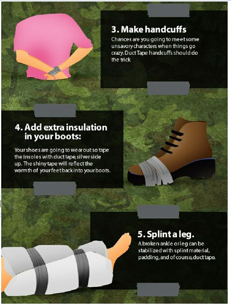 12 Duck Tape Survival uses .. Page 2