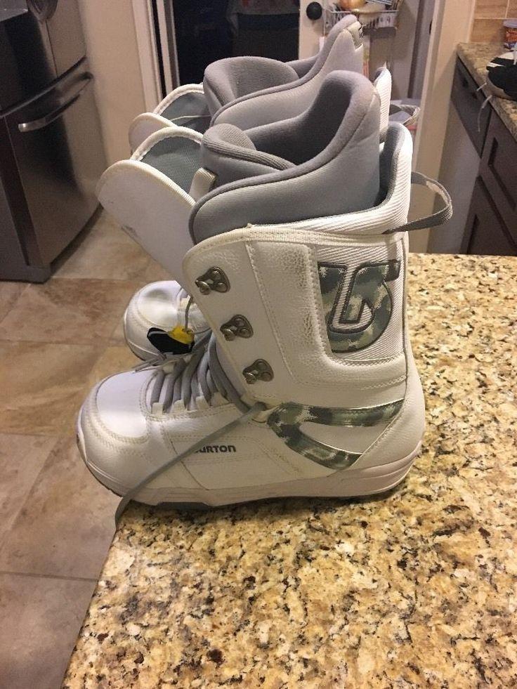 burton snowboard boots Mens 10.5 Tribute Nice White
