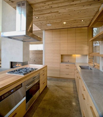 House in Portland 7 Una Versión Moderna de la casa de Madera | Interiores | #madera #techo #design #arquitectura