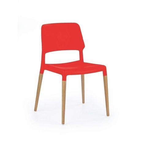 Krzesło 163Krzesło idealne do nowoczesnej jadalni lub kawiarni.