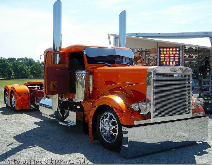 Cool Semi Trucks Peterbilt Show Photos Of Custom Bad