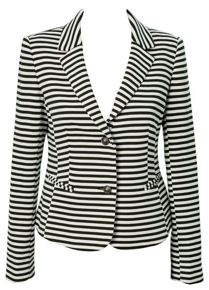 Farmers   Whistle Striped Blazer   $89.99