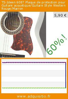 TS-Ideen 6087 Plaque de protection pour Guitare acoustique/Guitare Style Western Rouge/Marron (Appareils électroniques). Réduction de 60%! Prix actuel 5,90 €, l'ancien prix était de 14,80 €. http://www.adquisitio.fr/ts-ideen/plaque-protection-guitare
