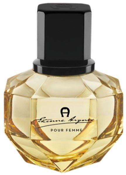 Aigner Pour Femme 100ml eau de parfum sprayEtienne Aigner Pour Femme straalt met unieke en harmonieuze essences die vrouwelijkheid, gevoeligheid en de elegantie van een dame accentueren. Doel van deze geur is om de kwaliteit en de stijl van het merk te reflecteren. De componenten maken een helder en modern ritme met tijdloze vrouwelijkheid en raffinement. Deze geur is gemaakt om een klassieker te zijn en de naam van het merk te vertegenwoordigen in de best mogelijke manier, aldus Etienne…