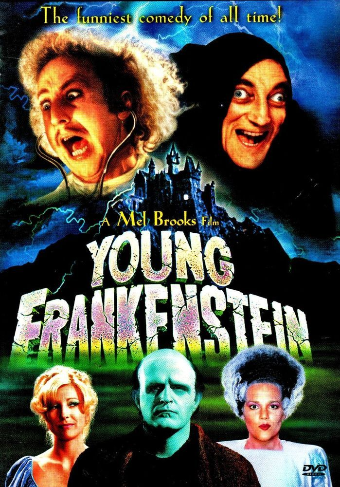 YOUNG FRANKENSTEIN DVD 2.49 Shipping 1.99 on the first