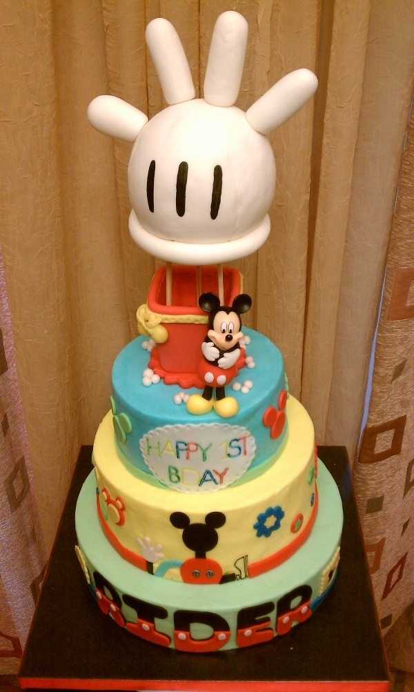 24 Best Micky Mouse Cake Images On Pinterest Disney