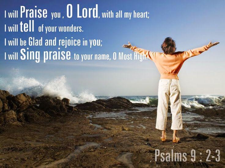 †MIGHTY WARRIOR BLOG † THE POWER OF PRAYER: Psalm 9