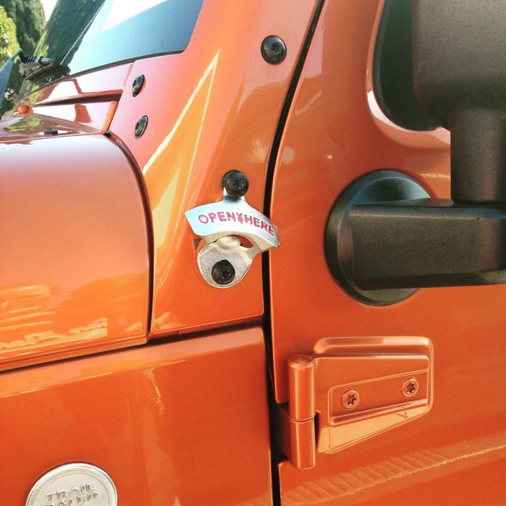 Bottle Opener on the Jeep All Jeepers Need This!!!