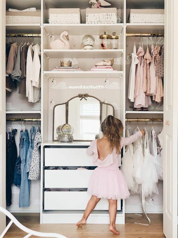 Kinderzimmer Ideen Kleiderschrank Einrichten Kleines