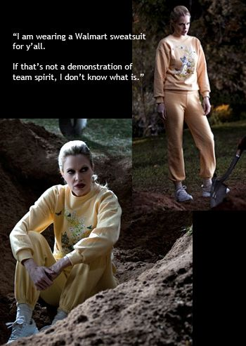 Pam From True Blood | True Blood sweatsuit