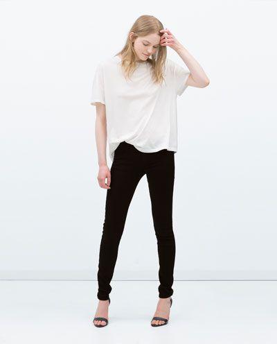 SKINNY TROUSERS-Skinny-Trousers-WOMAN | ZARA United States
