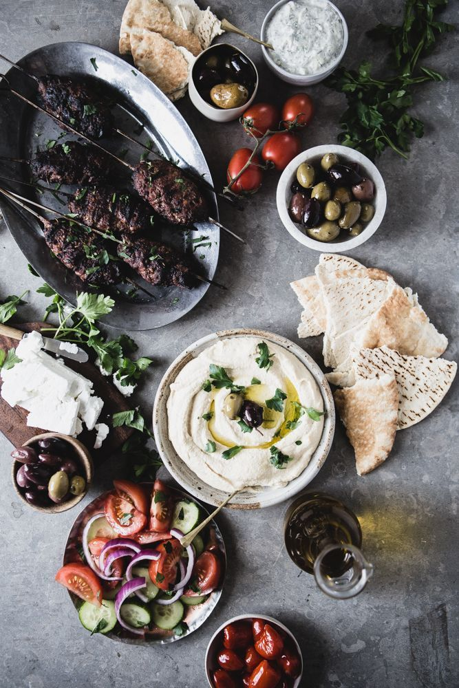 Beef Kofta Kababs with Tzatziki / The Modern Proper