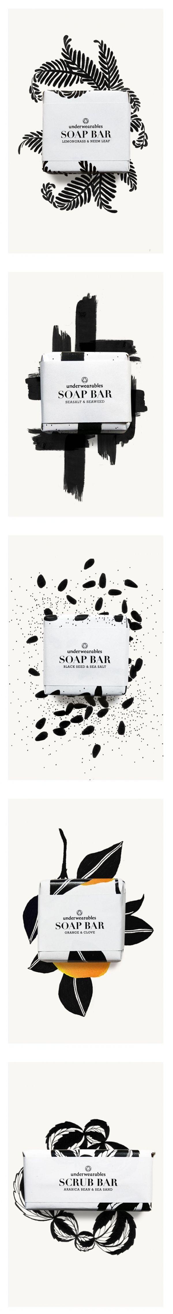 underwearables SOAP BAR #packaging