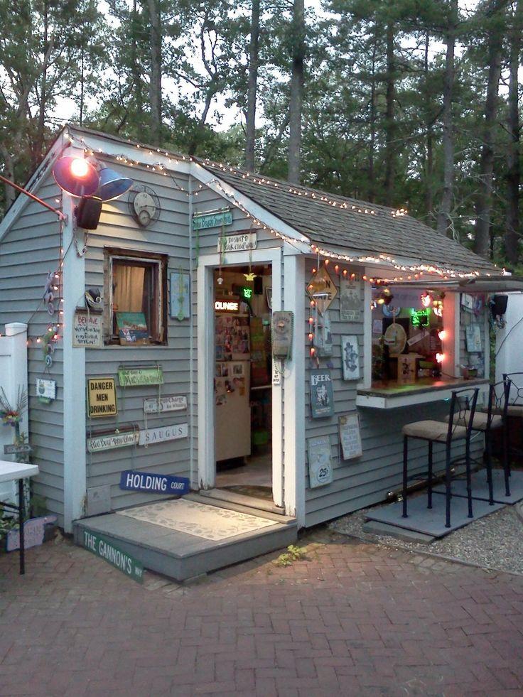 17 best images about pub seds she sheds on pinterest for Garden shed pub