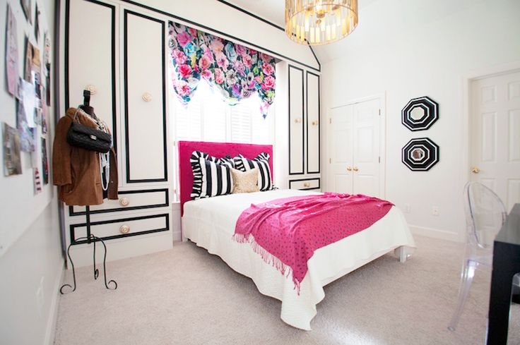 Best Source Lucy And Company Bedroom With Black White And 400 x 300