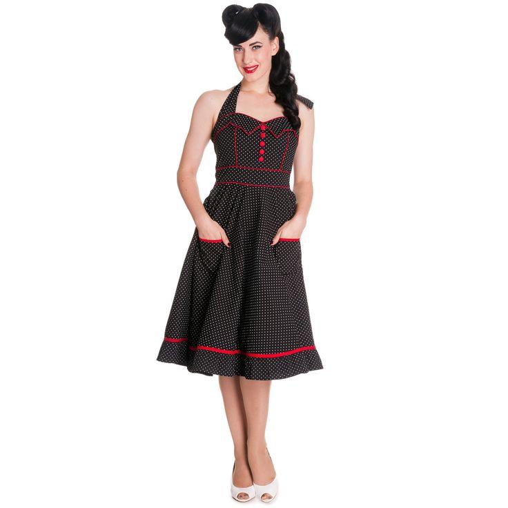 Vanity Polka Dot Dress
