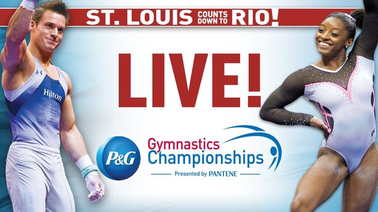 2016 P&G Gymnastics Championships - Sr. Women - Day 1 (International Feed)
