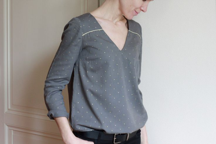 Patron de couture pour femme robe BE PRETTY | Atelier Scammit