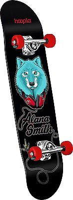 Skateboards-Complete 16264: Hoopla Skateboards Alana Smith Wolf Shape 191 Complete Skateboard, 7.5 X -> BUY IT NOW ONLY: $88.49 on eBay!