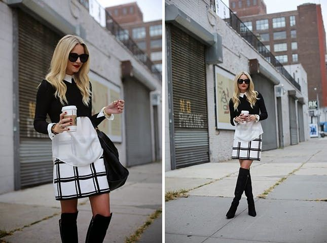 12 Ways to Style a White Collared Shirt via Brit + Co