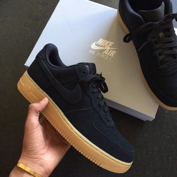 Air force 07 black suede