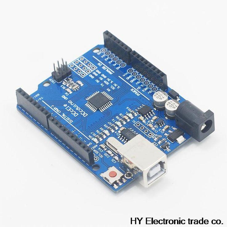 Alta calidad UNO R3 MEGA328P + CH340 para Arduino uno R3 NO CABLE USB Envío Gratis