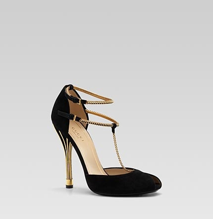 what do you think?: Heels Open To, Fashion Shoes, Tstrap Pumps, Gorgeous Shoes, T Straps Pumps, Black Heels, Black Gold, High Heels Pumps, Gucci Oph