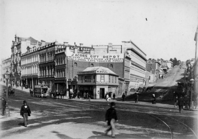 Intersection of High and Princes Streets, Dunedin