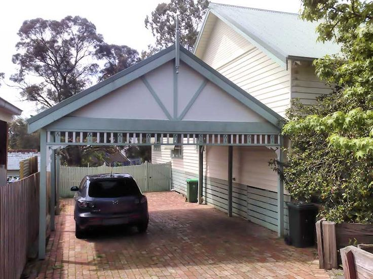 8 best home carport images on pinterest carport for Brick carport designs