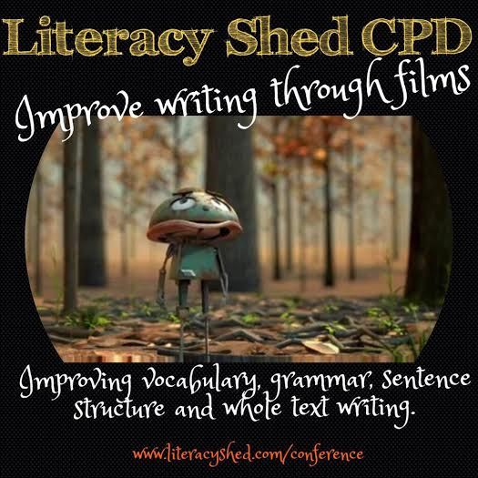 This site is so cool because it lists video clips that teachers can play for the class. The class is then given a writing prompt based on the video.