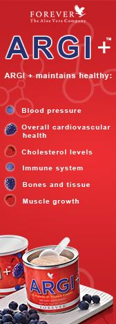 Argi+ - the amazing nutritional supplement used by professional sportspeople and all sorts of people looking to be healthier, longer.  Based on the research of a Nobel prizewinner