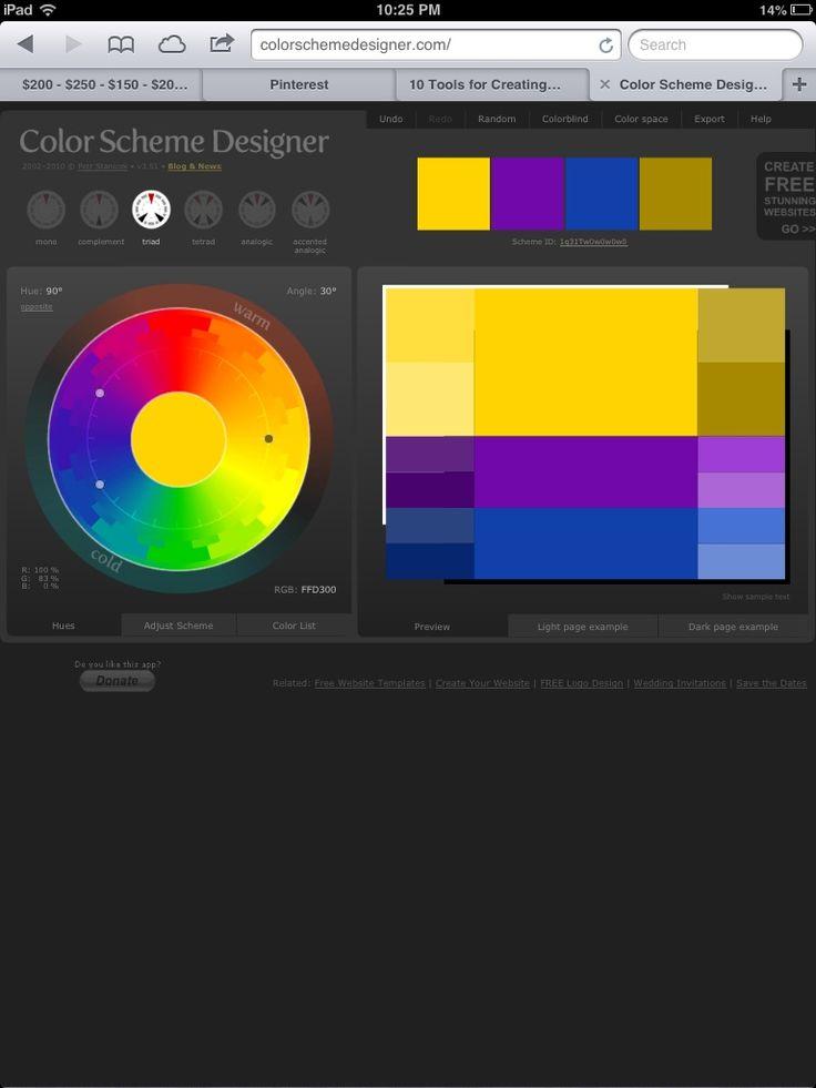 httpcolorschemedesignercom - Color Scheme Designercom