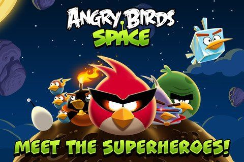 Angry Birds Space for PC (Windows 7/8/XP)