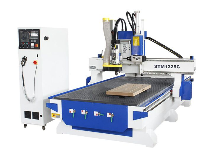 Syntec Control Linear ATC CNC wood router and CNC wood carving machine