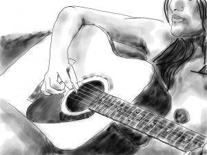 20151009 akoestische gitaar
