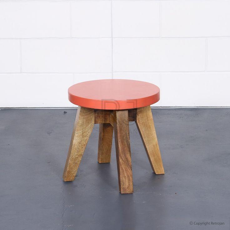Jasper Scandinavian Style Side/End Table - Coral   $69.00