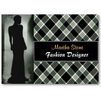 Scottish Fashion Designer Business Card by elenaind: Business Cards
