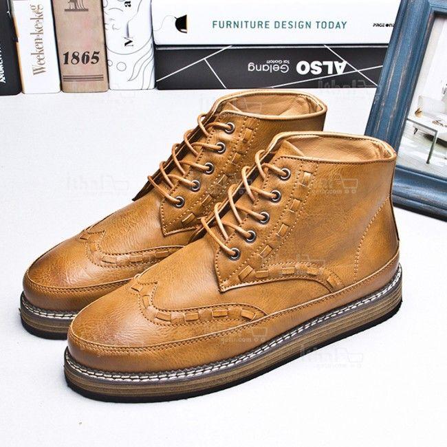 Yüksek Kaliteli Malzemelerden Üretim Moda Erkek Ayakkabı Modelleri - 571582 - 32